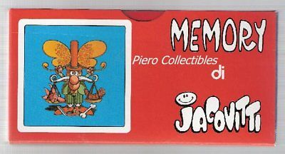 Playing cards Game Memory by Jacovitti - 2 Bunches Modiano