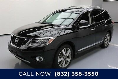 Nissan Pathfinder Platinum 4dr SUV 4WD Texas Direct Auto 2015 Platinum 4dr SUV 4WD Used 3.5L V6 24V Automatic 4X4 SUV