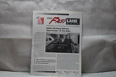 1993 Winter Fast Lane Team Saleen Ford Mustang Volume 1 No.1