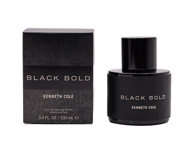 Black Bold by Kenneth Cole EDP Cologne for Men 3.4 oz Brand New In Box