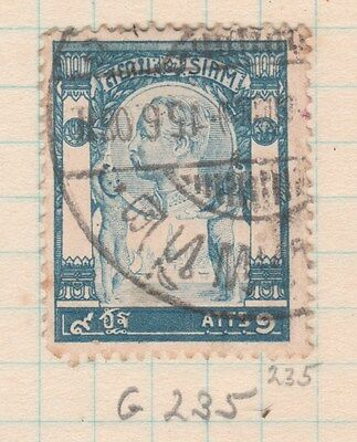 THAILAND 1905 9ATTS King FINE USED #