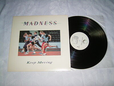 LP - Madness Keep Moving - US 1983 SKA MINT # cleaned