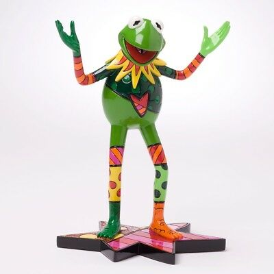 Romero Britto Muppets Movie Kermit the Frog Collectible Pop Art Figurine 4027897