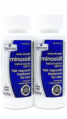 Member's Mark 2 Month Minoxidil 5% Extra Strength Hair Regrowth Loss Treatment