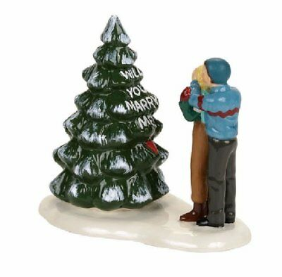 Department 56 Snow Village Northwoods Proposal Accessory Figurine 4056695 New
