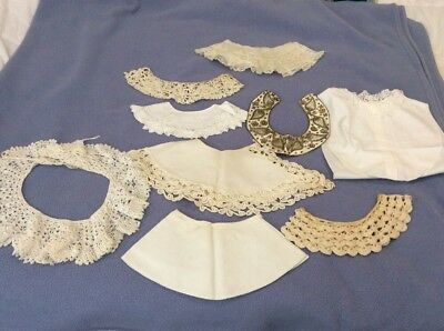 Lot Of 9 Vintage / Antique Women's Collars For Dress Making *Adding 10 More*****