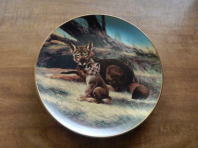 THE RED WOLF by Will Nelson  3rd Plate in the Last Of Their Kind Series  1989