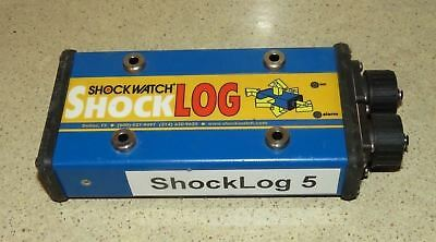 ^^ Shockwatch Shocklog Impact Recorder P/n 29888Stf0