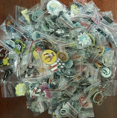Disney Trading Pins - Lot Of 50 -  No Duplicates
