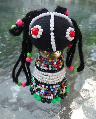 Ndebele Beaded Doll Hand Made in South Africa