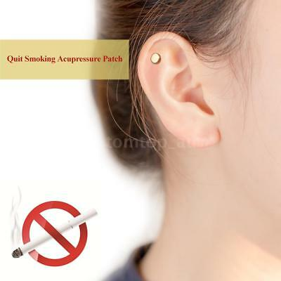 Zerosmoke Auricular Therapy Magnet Quit Smoking Nicotine Patch Health Care E5I6
