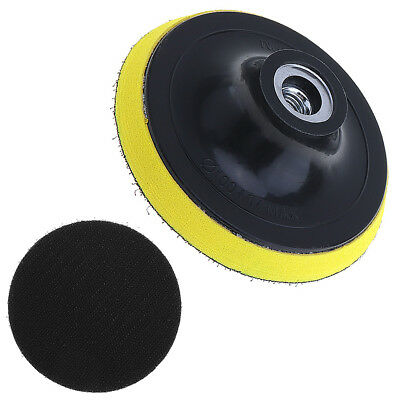 4 Inch 100MM Polishing Sander Backer Plate Napping Hook Loop Sanding Disc Pad