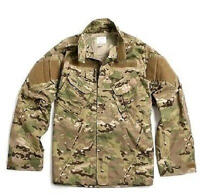 US Army Multicam FR ACU Defender OCP Jacke Coat Made USA Small Short