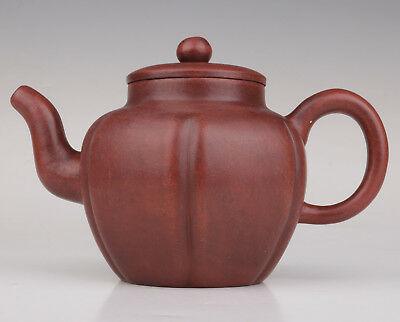Teapot  Yixing Violet Arenaceous Hand-Carved Large Capacity Home Tableware