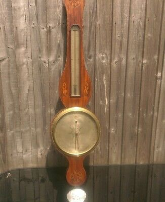 antique banjo barometer