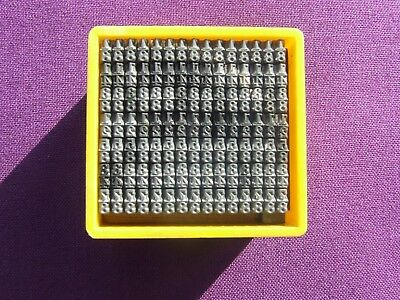 Letterpress Printing ADANA Small Box 12pt FRACTIONS to an eighth of an inch TYPE