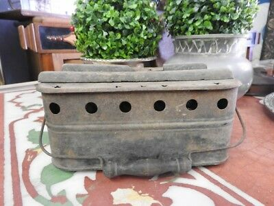 Originale Antico Scaldino Braciere Scalda Letto Epoca Original Rustic Home