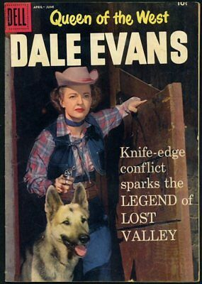 1958 DELL WESTERN COMIC # 19 Queen of the West..DALE EVANS....NICE