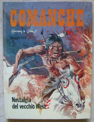 Comanche Longing for the old West Hermann & Greg 1978 Vallecchi