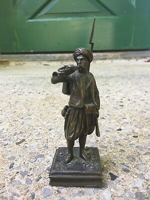 Antique Continental Bronze Cossak Infantry Soldier Figurine Cossack #2 of 6