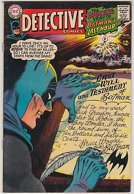 Detective Comics #366, 1967 Dc Comics, Fn Condition