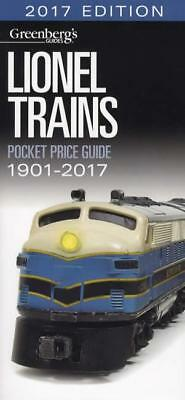 2017 Greenbergs Lionel Trains Pocket Price Guide 1901-2017 w Sets & More