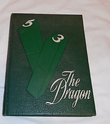 vintage Lake Orion High School Michigan Dragon Yearbook 1953
