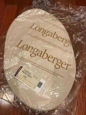 Longaberger 40360 Protective Oval Lid, New