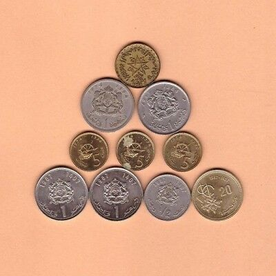 Morocco - Coin Collection - Lot # K 40 - World/Foreign/Africa