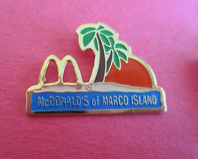 McDonald's of Marco Island - Restaurant Advertising Pin