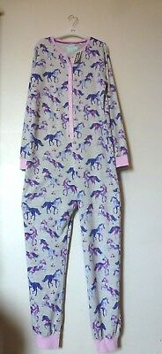 Bluezoo Girls Unicorn All In One Piece Age 13-14 Years BNWT RRP £24.49 Multi