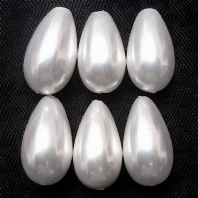 Wholesale Lot of 13x7mm AAA Top Grade Drop Shape Shell Pearl Gemstone Drilled
