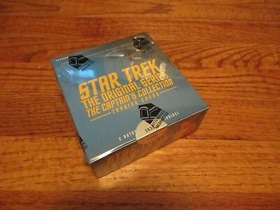 Star Trek The Original Series Captains Collection Factory Sealed BOX & P1 - TOS