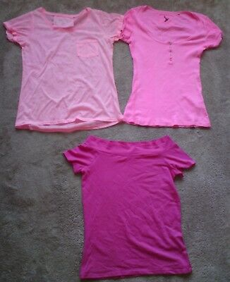 River Island Atmosphere  Job Lot  3 X Pink Tops Size 10.