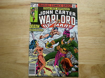 1979 Vintage Erb's John Carter Warlord Of Mars # 27 Signed Joe Sinnott Artwork
