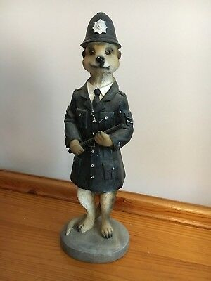 Shudehill Giftware - Magnificent Meerkats 18410 Tommy Policeman - BOXED
