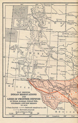 Southwestern Frontier 1865-1881 First Edition 1928 + Photographs + Fold-Out Maps