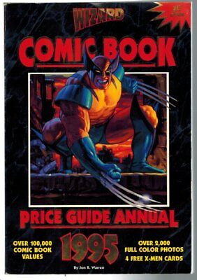 Wizard Comic Book Price Guide Annual 1995 1st Edition Jon R. Warren Guide