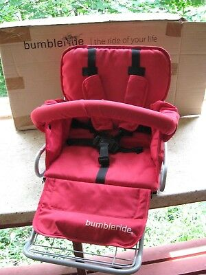 Toddler seat for Ruby Bumble ride Queen B Stroller..New!