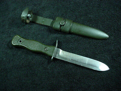 Boot Knife West German Army Bundeswehr Vintage Fighting Combat Fixed Blade