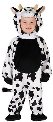 Toddler Cuddly Cow Animal Costume 3T-4T
