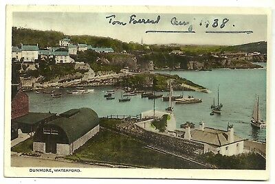 Ireland Co Waterford postcard Dunmore Waterford