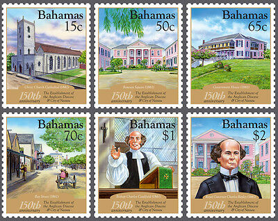 Bahamas 2011 150th Anniversary of Nassau 6v set SG 1588/93 MNH