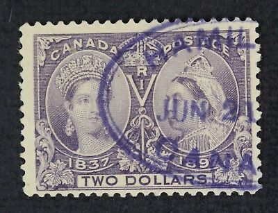 CKStamps: Canada Stamps Collection Scott#62 Jubilee Used CV$600