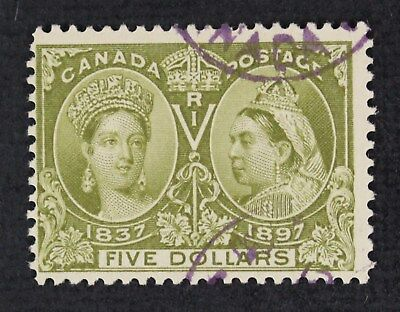CKStamps: Canada Stamps Collection Scott#65 Jubilee Used CV$1100