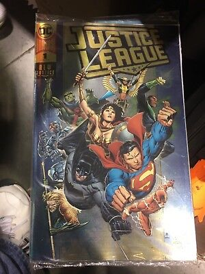JUSTICE LEAGUE #1, Rare GOLD FOIL Variant, FREE SHIPPING, In Stock