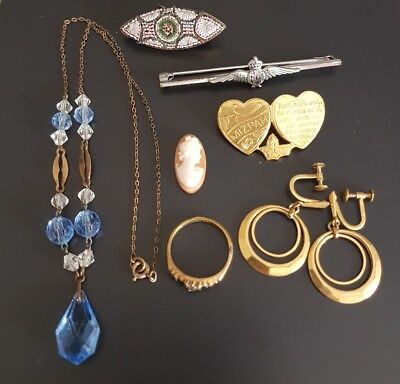 Vintage Collection Of Antique Jewellery