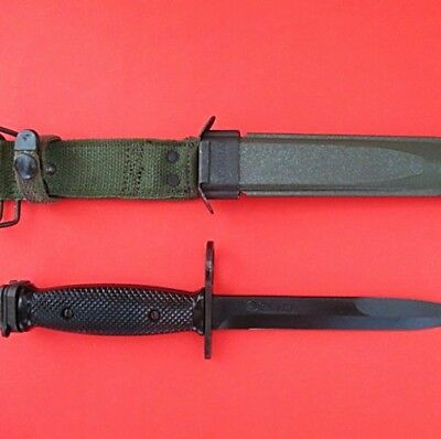 Scarce Mint M16 M7 Knife Made By Colt Hartford Usa Vietnam War Issue