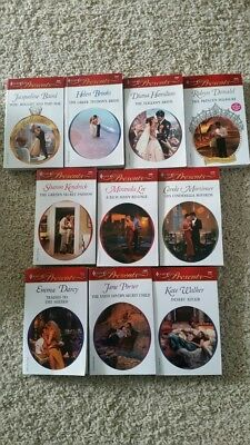 Harlequin Presents paperback lot of 10  early 2000s