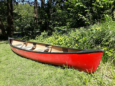 """Kanu OLD TOWN """"Discovery 174"""" (Penobscot) 4 bis 6 Pers. 528cm Canadier rot"""
